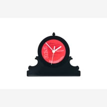 -Record table clock retro # 3-20