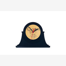 -Record table clock retro # 1-20