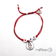 -FC LOVE bracelet with Cologne Cathedral // RED-21
