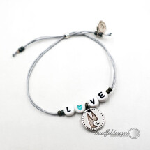 -LOVE bracelet with Cologne Cathedral // GRAY-21