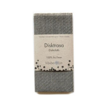 -Graphite gray tea towel Växbo Lin-21