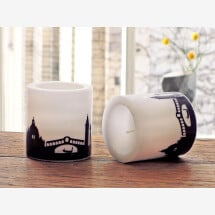 -Modern candle set Venice 2 candles with Venice skyline city candles by 44spaces-21
