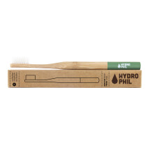 -Hydrophilic sustainable toothbrush made of bamboo in green-21
