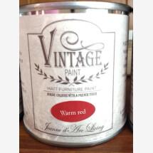 """-Chalk paint """"Vintage Paint"""" JDL 100 ml warm red-20"""