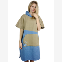 -WAVE HAWAII Travelponcho travel bathrobe Lighd-2