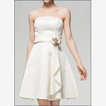 -Knee-length dress in the A-line cut-24