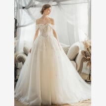 -Princess wedding dress with straps-21