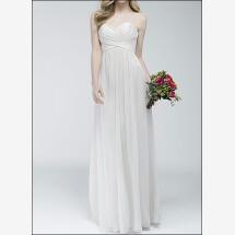 -Elegant wedding dress with satin bodice-22