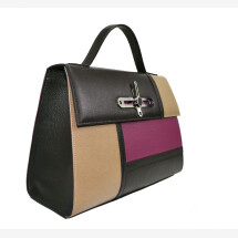 -Berlin Tricolor Plum bag-21