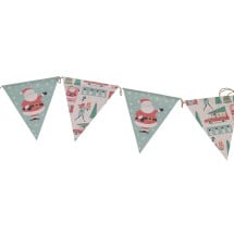 -Vintage Christmas Garland Rex London-21