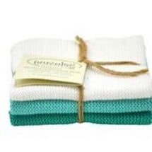 "-Wipes Dishcloth ""aqua"" combo Set of 3-20"