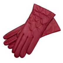 -Firenze Womens Nappa Leather Gloves in Rosso-21