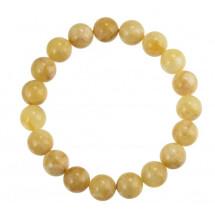 """-Amber bracelet """"White Wonders""""-21"""