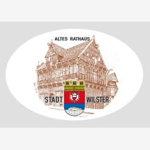 -Magnet including bottle opener with Wilster motif from the old town hall-20