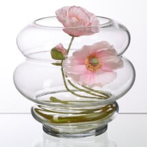 -Circle vase clear glass by wikholmform-21