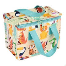 -INSULATED SNACK BAG Cooler Bag Colorful Creatures Animals DESIGN-21