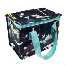 -INSULATED COOL BAG SNACK BAG Space Age Rocket DESIGN REX-21