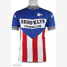 -BROOKLYN vintage style wool cycling jersey-21