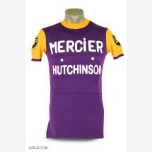 -MERCIER vintage style wool cycling jersey-21