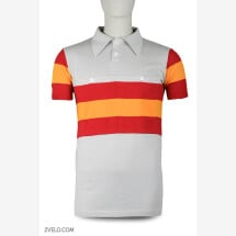 -Spain Champion vintage style wool cycling jersey-21