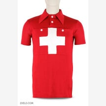 -SWISS CHAMPION vintage style wool cycling jersey-21