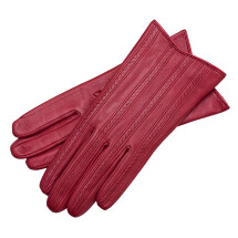 -Pavia Womens Leather Gloves Rosso-21