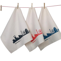 -Yokohama Set of 3 Fair Trade Tea Towels-2