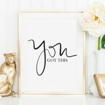 -Tales by Jen Art Print: You got this-21