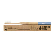 -Hydrophilic sustainable toothbrush made of bamboo in light blue-21