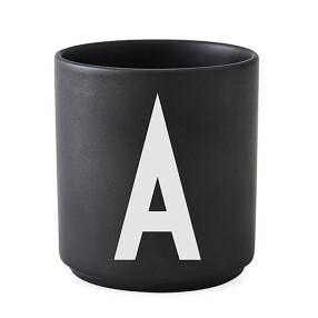 -Design Letters black porcelain mug-20