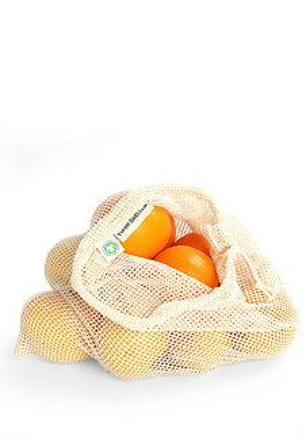 Turtle Bag shopping net made of GOTS certified organic cotton in bulk | soki Kassel