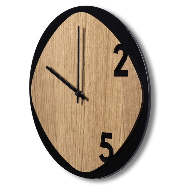 Clock25 - Wooden wall clock | Sabrina Fossi Design