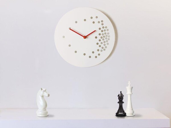 invasion 48  wall clock | Layla Mehdi Pour