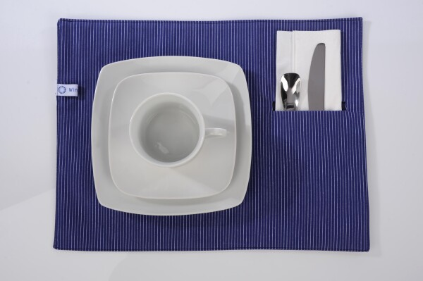 Tiny blue placemat | Winzerblau