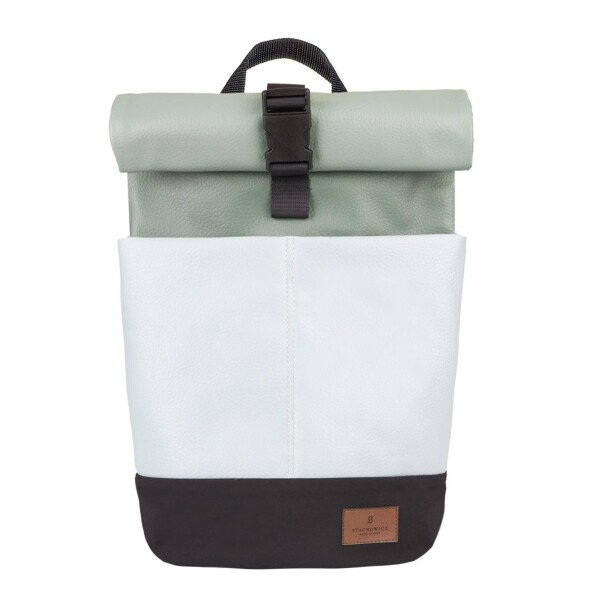 UNISEX Waterproof Mini Rolltop Backpack with Laptop Bag 10L Mint by STACHOWICZ   SYLD STORE Berlin