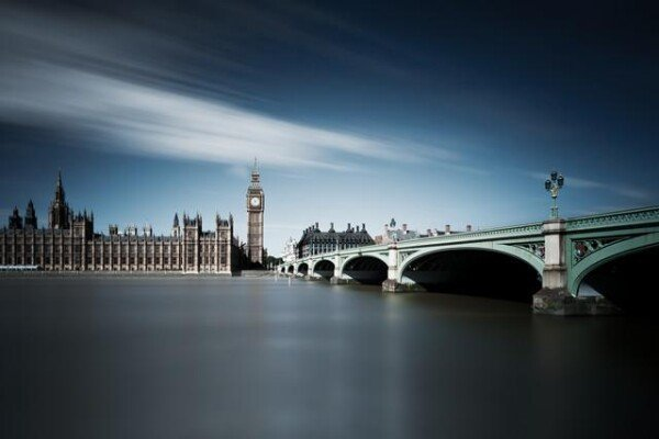 London - time goes on: bridge to Big Ben | Photocircle