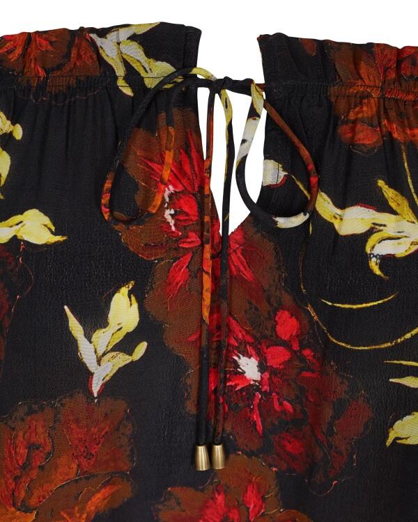 Havana Flore Blouse Black | Wiebelhaus SIMPLY WEAR