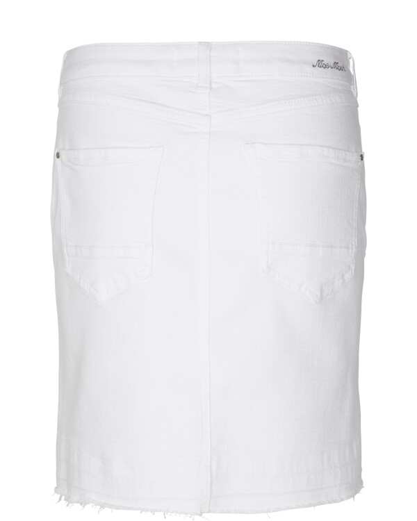 Vicky Flamingo Skirt Jeans Skirt Mos Mosh white | Wiebelhaus SIMPLY WEAR