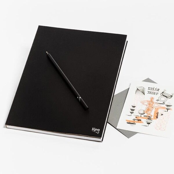 Notebook - black | Lipa store
