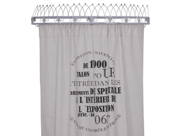 Chic antique curtain white - sand | Ambiente lifestyle & deko
