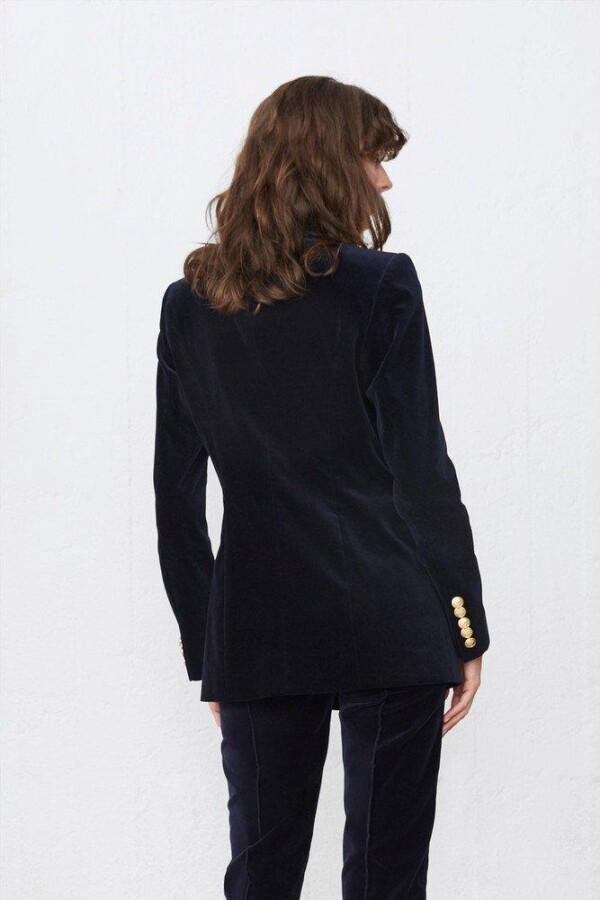 Velvet Long Reba Blazer Hunkydory | Styleroom