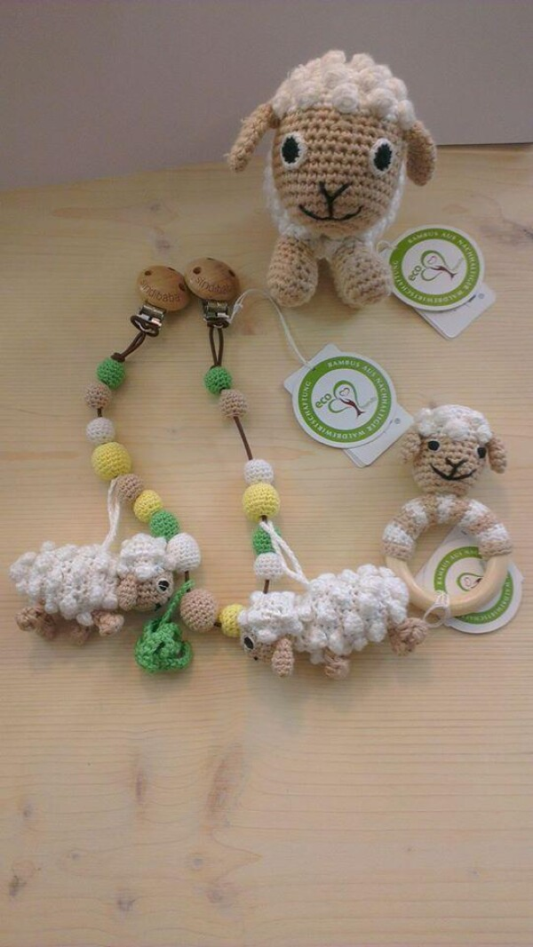 Set of sheep crochet | Murmelwald
