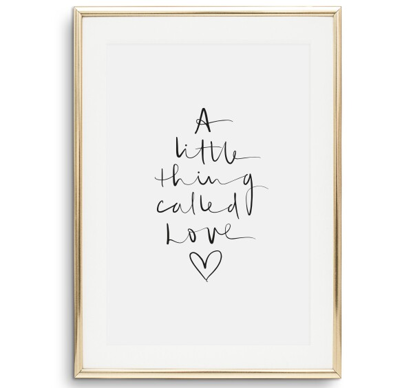 Tales by Jen Art Print: A little thing called love | Tales by Jen