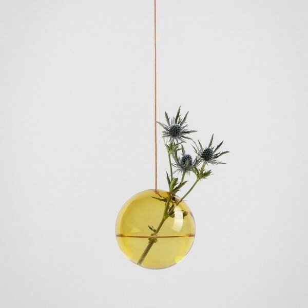 Flower Bubble hang large yellow | Groen+Akker