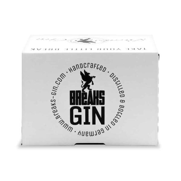 6x Little KSC Dry Gin handcrafted bottle 50ml   Breaks Gin Manufaktur