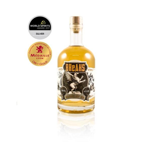 Set of 6 Breaks Reserve Dry Gin Handcrafted bottle 500ml | Breaks Gin Manufaktur