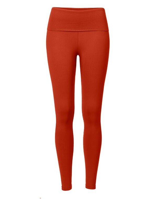 Terracotta ankle leggings with cuff   Nipala