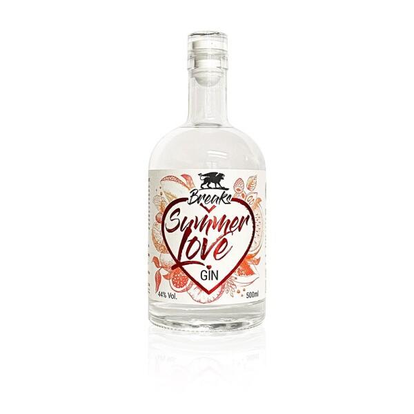 Breaks Summerlove Gin 500ml   Breaks Gin Manufaktur