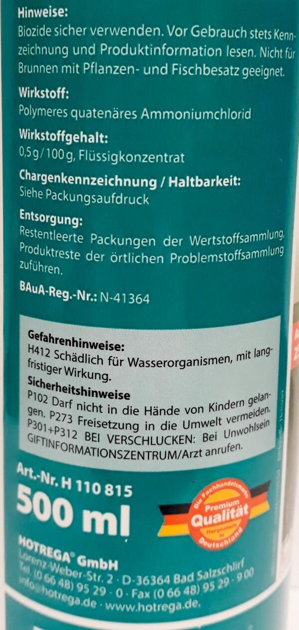 Well-Clear HOTREGA® | Haack am Markt