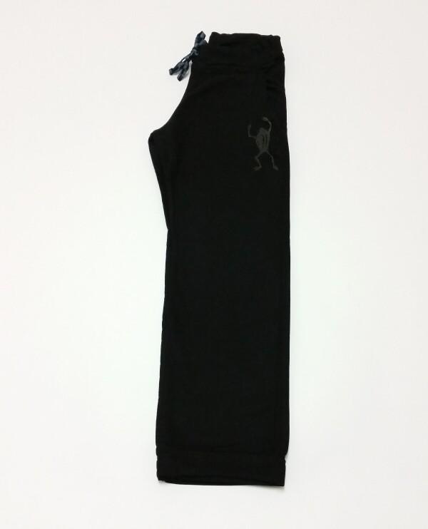 French Terry Pants Black Frog by Ku Ambiance | Ku Ambiance